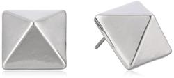 T Tahari - Pyramid Button Stud Earrings