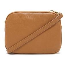 Forever 21 - Double-Zipper Crossbody Bag