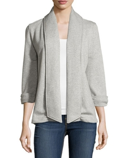 Theory - Ashby Open-Front Cotton Cardigan