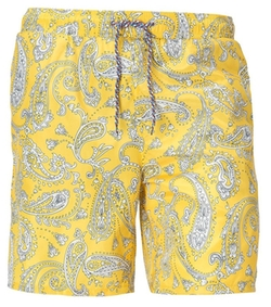 Cutter And Buck - Jetty Paisley Swim Short