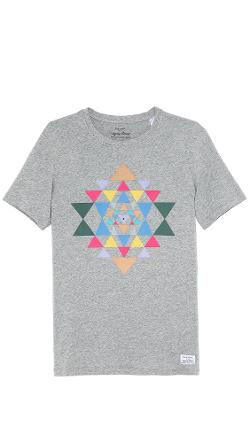 Paul Smith Jeans  - Slim Fit Triangle Print T-Shirt
