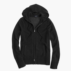 J.Crew - Collection Cashmere Zip-Front Hoodie Jacket