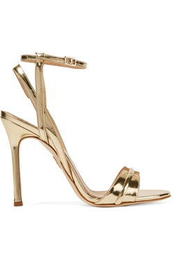 Chelsea Paris  - Bee Metallic Leather Sandals