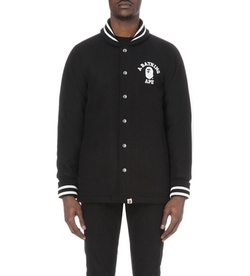 A Bathing Ape - Wool-Blend Varsity Jacket