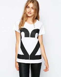 ASOS - 2nd Day T-Shirt With Number Logo