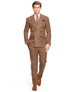 Ralph Lauren - Polo Glen Plaid Db Wool Suit