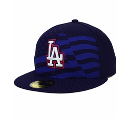 New Era - Los Angeles Dodgers July 4th Stars & Stripes 59fifty Cap
