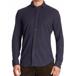 Polo Ralph Lauren  - Solid Casual Button-Down Shirt