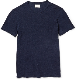 Simon Miller - Garçon Slub Cotton and Silk-Blend T-Shirt