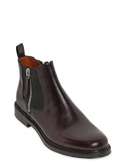 Givenchy  - Chelsea Brushed Matte Leather Boots