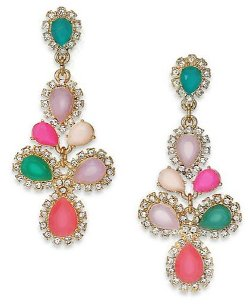 Kate Spade New York  - Balloon Bouquet Chandelier Earrings