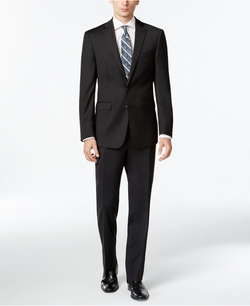 Calvin Klein - Charcoal Slim X Fit Suit