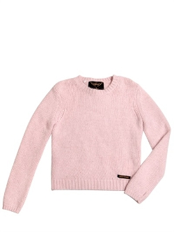 Finger in the Nose  - Angora Wool Blend Sweater