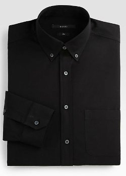 Gucci  - Solid Dress Shirt