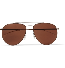 Mykita - Magnus Lightweight Aviator Metal Sunglasses