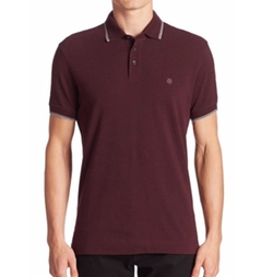 Z Zegna  - Striped Cotton Polo
