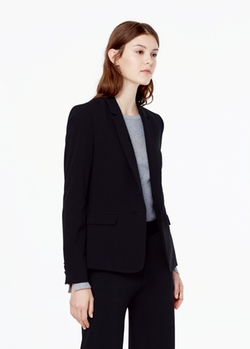Mango - Essential Cotton Blend Blazer