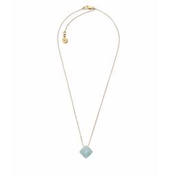 Michael Kors - Pyramid-Cut Crystal Pendant Necklace