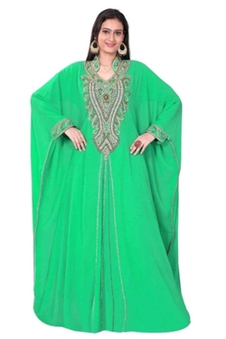 Trendy Fashion Mall - Georgette Kaftan Abaya Dress