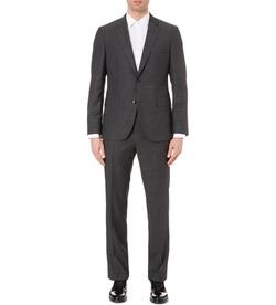 Hugo Boss  - Regular-Fit Wool Suit