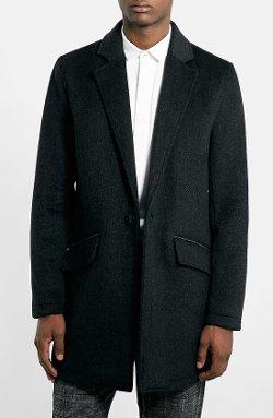 Topman  - Wool Blend Oversize Coat