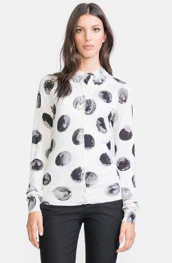 Dolce & Gabbana  - Dot Print Silk Cardigan