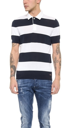 Dsquared2 - Striped Polo Shirt