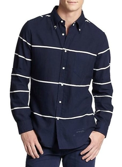 Gant Rugger  - Cotton Stripe Sportshirt