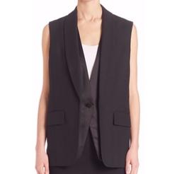 Alexander Wang  - Layered Tuxedo Vest