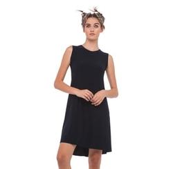 Norma Kamali - Sleeveless Swing Dress