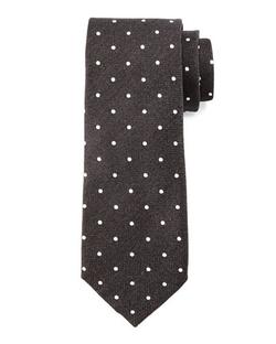 Tom Ford   - Herringbone-Dot Print Tie