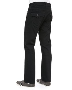 True Religion - Ricky Midnight Straight-Fit Jeans