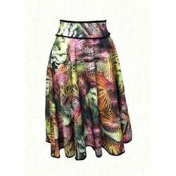Kaleidoscope Modest Wear - Peacock Scuba Skirt