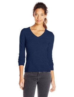 Sofie - Long Sleeve V-Neck Pullover Sweater