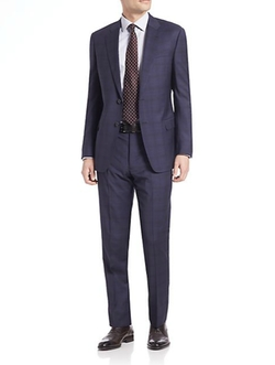 Armani Collezioni - Prince Of Whales Wool Suit