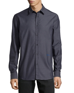 Just Cavalli - Long-Sleeve Dress Shirt