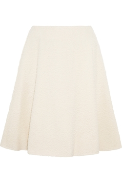 J.W.Anderson - Textured-Wool Skirt