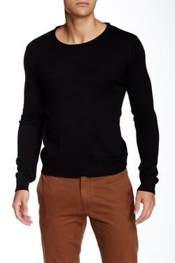 Yoki - Crew Neck Solid Sweater