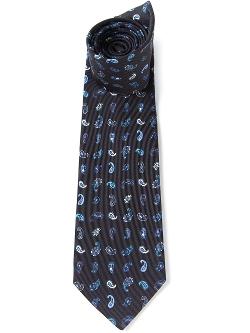 Etro   - Paisley Print Tie