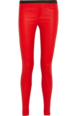 Helmut Lang - Leather leggings