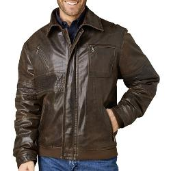 Cripple Creek  - Stitched Leather Jacket