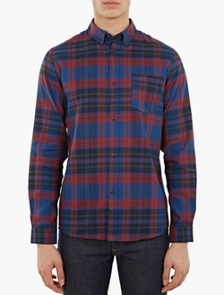 A.P.C. - Bruce Checked Cotton Overshirt