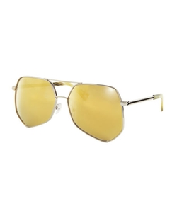 Grey Ant - Megalast Geometric Aviator Sunglasses