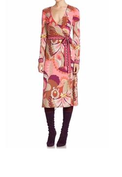 Trina Turk  - Hush Printed Wrap Dress