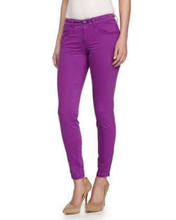 Stella McCartney  - Zipper-Cuff Skinny Jeans