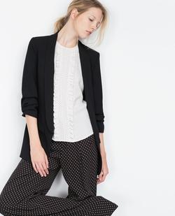 Zara - Crepe Blazer