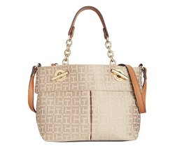 Tommy Hilfiger  - Audrey Monogram Jacquard Mini Bag
