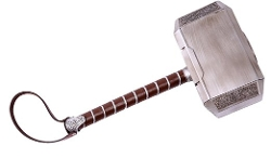 Ace - Thor Hammer Cosplay Costume Props