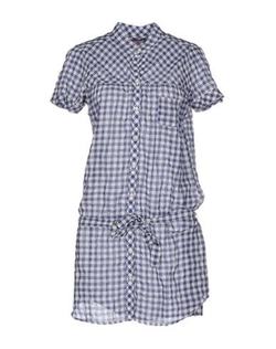 Sun 68 - Check Shirt Dress