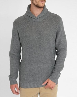 Jack & Jones - JJcoForce Shawl Collar Sweater